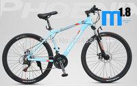 New  21 speed Phoenix M1.8 mountain bike, Aluminum alloy frame bicicleta mountain bike, Mechanical disc 26-inch mountain bicycle