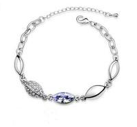 2014 New Fashion and sweet Crystal Rhinestone Angel's Eye For Party Bracelet E6463