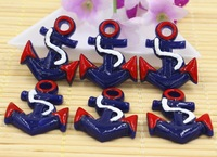 free shipping new arrival resin anchors resin cabochons for accessaries DIY resin items 30pcs/lot