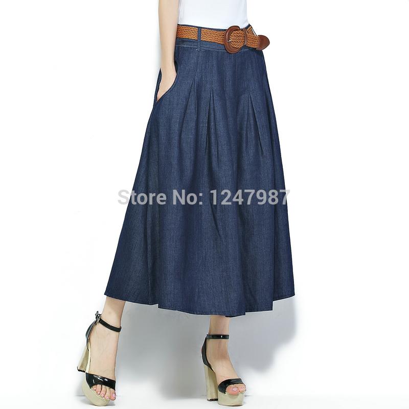 Джинсовые юбки 2015