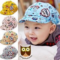 Autumn OWL new baby Hat baseball caps Cap Hat