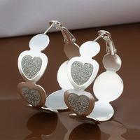 Hot Sale!!Free Shipping 925 Silver Earring,Fashion Sterling Silver Jewelry New Style Earrings SMTE478
