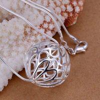 P124 Free Shipping 925 sterling silver Necklace, 925 silver fashion jewelry Fashion Pendant /bakajrra emaandha