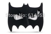 For iphone 6 Plus 5.5 inch Case Cape Fashion BATMAN Covers 3D noctilucence Batman Mask Soft Silicone Cartoon Cases