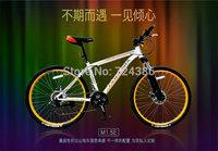 21 speed Phoenix M1.5E mountain bike, High-carbon steel frame bicicleta mountain bike, Mechanical disc 26-inch mountain bicycle