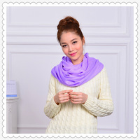 New pashmina scarf  solid color tassels neckerchif  neck gaiter warm ring style scarve 204942 wholesale(10pcs/lot) Free Shipping