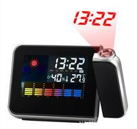 Creative fashion color LED electronic clock snooze alarm clock 8190 Forecast Projection Clock