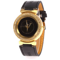 Top Sale!hight Quality  Leather Watch The Best Watch Women Dress Watches  Best Gift  QW-3166