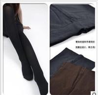 Thin leg pantyhose Vertical stripes thin leg tights Velvet type vertical stripes thin leg pants