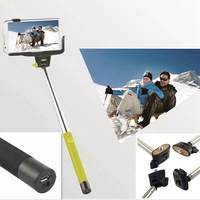 Z07-5 Extendable Selfie monopod Wireless Mobile Phone Monopod with built-in bluetooth for iPhone Samsung galaxy s5 s4 note