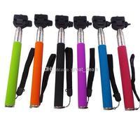 30 sets (30pcs monopod +30pcs clip holder) Z07-1 Adjustable Monopod with Holder for Digital Camera & Cell Phone hot sale