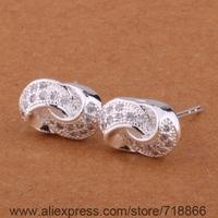 E372 Wholesale 925 sterling silver earrings , 925 silver fashion jewelry ,  /arqajixa ciiakzpa