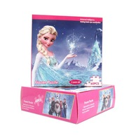 Frozen children jigsaw puzzle graphic cartoon puzzles kids toys 60pcs exquisite gift box toys for children Christmas gift