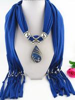 12PCS/LOT 2014 New Design Style Fashion Tassel Scarf Phoenix Alloy Pendant Scarf Ladies' Scarfs Free Shipping