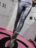 drop shipping brand new beading on side fashion slim skinny pants women pencil pants 3 colors M L