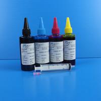 4x100mL Universal Printer Ink For Epson xp200 r220 s22 p50 cx8300 r2400 c45 cx3700 Refillable Ink Cartridge Dye Ink Kit