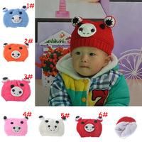 2014 new children's winter hat Teddy Bear AliExpress selling children's hat a generation of fat  DM-030