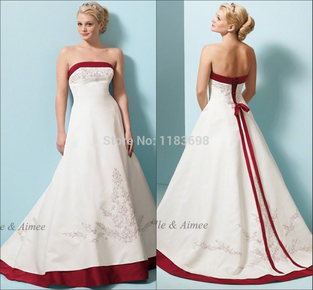 Famous Vestido Novia Rojo Gallery - Wedding Ideas - memiocall.com