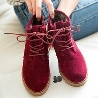 2014 new Martin boots Martin boots with flat round head flat documentary with short boots boots wholesale