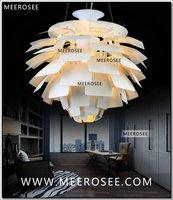 D480mm Louis Poulsen PH Artichoke Pendant Lamp Silver color Denmark Modern Suspension Pendant Light