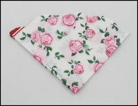 Food-grade Love Shape Pink Rose Printed Paper Napkin Event & Party Tissue Printed Napkin Guardanapo  1pack/lot