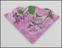 Food-grade Love Shape Pink Floral Paper Napkin Event & Party Tissue Printed Napkin Guardanapo 33cm*33cm 1pack/lot