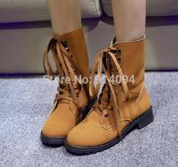 2014 new Martin boots women boots Martin boots woman Rivet anti-wearing antiskid boots in the men's women's boots