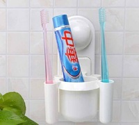 Magic chuck toothbrush rack,Toothpaste frame,The bathroom multifunctional shelf