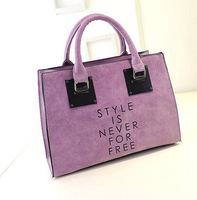 2014 Autumn new Korean fashion casual handbag shoulder bag handbag chain matte Pilar