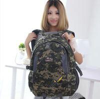 men camping backpack fashion men women  Hiking Backpacks camouflage backpack denim outdoor sports shoulder bag waterproof 40L