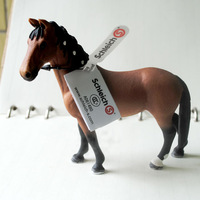 Brand New Land Animals Figure Toys Trakehner Warm Blood Horse PVC Education Animal Figure Model Toy For Kids/Gift -S13757