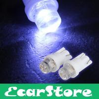 20 X T10 White LED Car Side Light Bulb Lamp DC 12V 0.35W