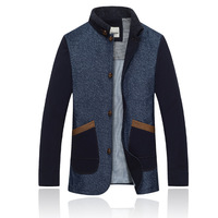 2014 New Winter Korean style men's jacket Slim and casual men's fashion single breasted woolen coat XH10-29