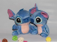 New Arrival Cute Frozen Cartoon Lilo and Stitch Plush Toy Doll Stuffed Toys Dolls free shipping