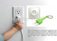 Creative Electric Socket Plug Unplug Anti Lost Key Ring Key Chain Key Holder