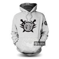 Free shipping TSM Game hoodie fleece Sweater men sweatshirt printed sweatshirt zip Casual hoodie winter coat