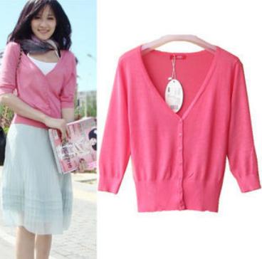 primavera 2014& verão doces 22 cores protetor solar camisa das mulheres casaquinho fino linda camisola de malha casual das mulheres blusa praia(China (Mainland))