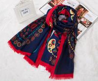 Twill Cotton scarf in women's  brand desigual hot sale big bannana bohemia style 2014 autume scarves drop shiping  S12