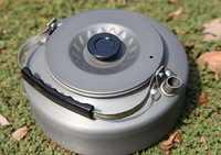 Outdoor camping teapot pot boil kettle kettle Coffee camping easy to carry 1.6L teapot