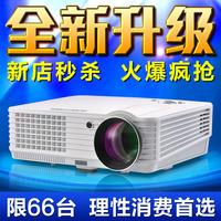 5200 Lumens HD projector home projector 1080p HD 3D LED projector projector Figure US era