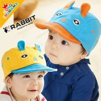 The new children baby hat child autumn cap flange cap hat tide boys and girls