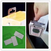 free  shipping 1000pcs/lot 50*45mm Adhesive Euro  Hang Tab for supermarket sent by china post