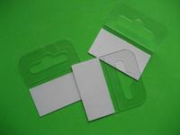 free  shipping  500pcs/lot 50*45mm Adhesive Euro  Hang Tab for supermarket