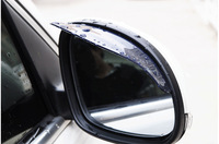 free shipping plastic pvc car rearview rain shield eyebrow for chery tiigo/a3/Bonus/fulwin 2/Very/Cross Eastar/Indis