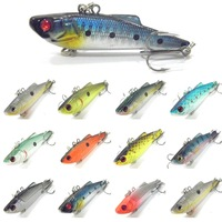 Fishing Lure Crankbait Hard Bait Fresh Water Shallow Water Bass Walleye Crappie Minnow C152 Fishing Tackle C152X3