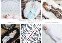 Hot brand newborn baby boy girl cotton swaddle blanket baby spring / summer /autumn newborn baby sleeping bags snuggle wear