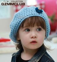 The new autumn baby hat knitted hat berets baby cap Children hedging cap