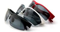 Hot Fashion Polarized Smart Bluetooth Music Sport Glasses Sunglasses Black/White/Red Light Weight