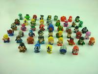 25pcs/lot Squinkies Marvel  Hulk Spiderman (mini figures) Kids Toys