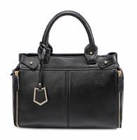 2015 New Style Fashion Casual Genuine Leather Women Handbags Brand First Layer Real Leather Lady Shoulder Bag Free Shipping